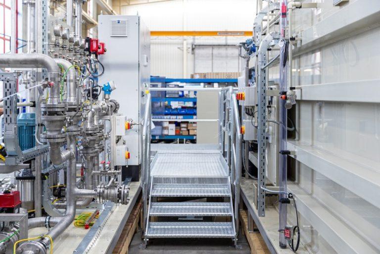 Konstrukční služby – neutralizační a vyrovnávací stanice pro farmaceutický průmysl