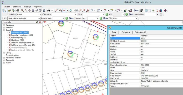 Propojení systému GIS a QI
