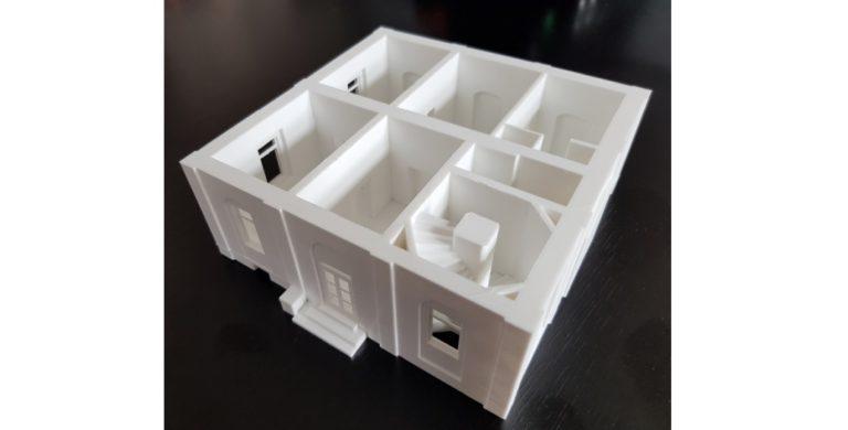 Tisk 3D modelu v projektu Komplexní mapovací systém budov