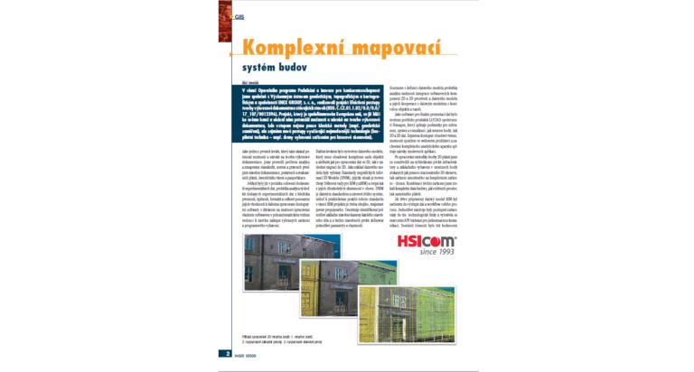 Článek v časopisu CAD