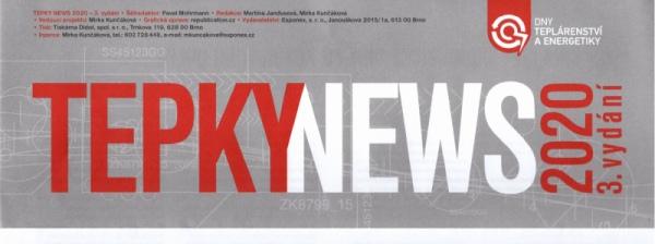 Článek v časopisu TEPKY News
