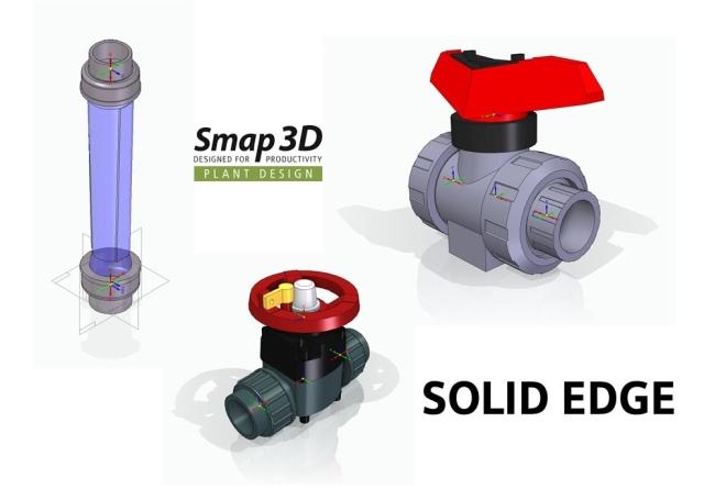 Konstrukční služby – databáze potrubních komponent