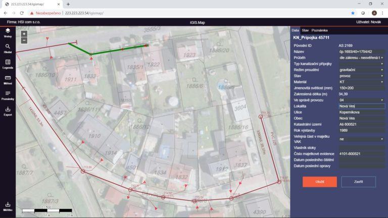 Kraslická městská společnost využívá iGIS.Map